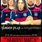 Vanden Plas in Soccer World Cup mood