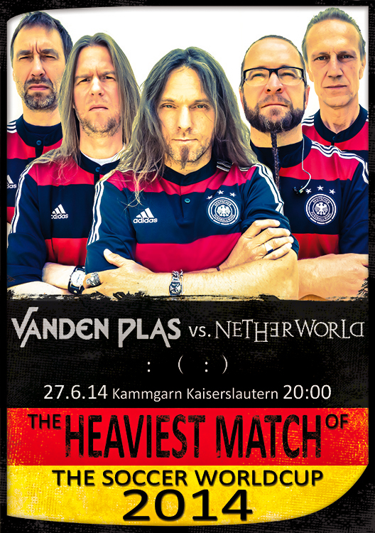 Vanden Plas in Soccer World Cup mood